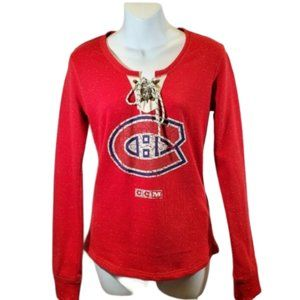 CCM Official Vintage Montreal Canadians Sweater